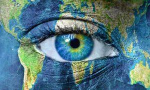 The world inside of an eye