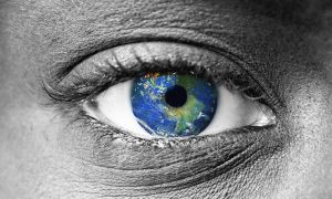 The world inside of an eye
